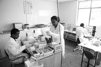LeAlem Higher Clinic laboratory.