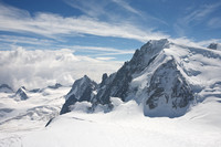 From Aguille de Midi, Mont Blanc, France